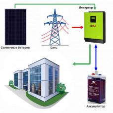 Солнечная электростанция Офис - 1 ( Независимость+Экономия )