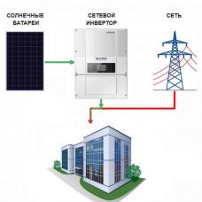 Сетевая солнечная электростанция  Офис-1 (Экономия)