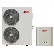 Инверторный тепловой насос воздух-вода SILA AS 18.8I-EVI